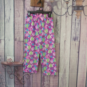 Other - frog heart pj bottoms girls size 6 AB23